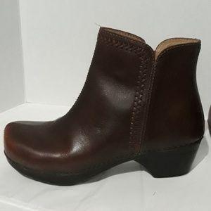 Dansko Ankle boots sz 37 Braided Pattern
